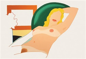 study for partial amy by tom wesselmann