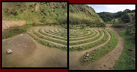 labyrinth, sibley volcanic regional preserve, oakland by michael rauner