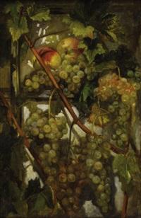 grappes de raisins by simon saint-jean