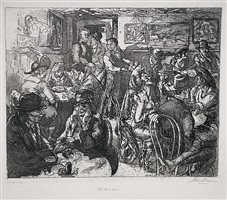 hell hole by john french sloan
