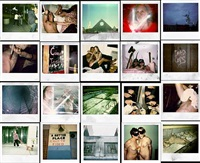 polaroid wall by dash snow