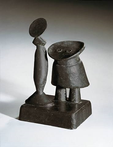 fille et mère (mother and daughter) by max ernst