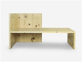 wintergarden bench by donald judd