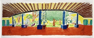 hotel acatlan first day by david hockney