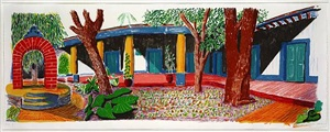 hotel acatlan second day by david hockney