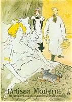 l'artisan moderne by henri de toulouse-lautrec