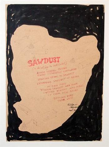 sawdust by allan kaprow