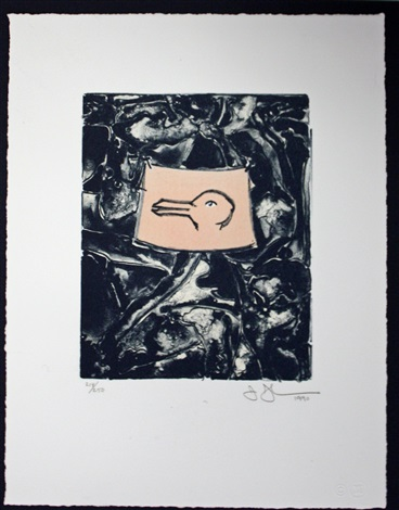 untitledduck for harvey gantt by jasper johns