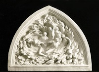 ex nihilo maquette cast marble from the creation sculptures by frederick hart