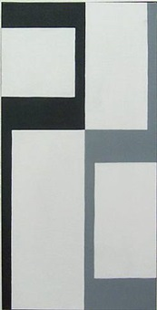opposite angles black - grey by leon polk smith