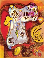 le loup-garou by andré masson