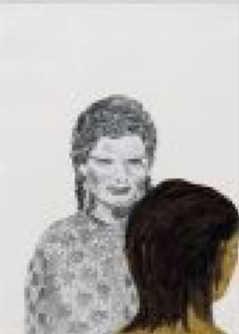 untitled (zwei koepfe) two heads by rosemarie trockel