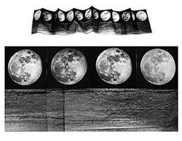 """i see the moon and the moon sees me"" tidal moon by kiki smith"