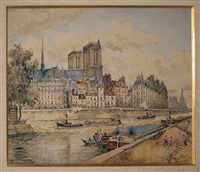 quai et notre dame by frank-will