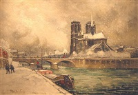 norte dame, le narge by frank-will