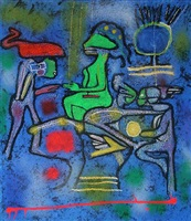 la source du calme by roberto matta
