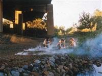 smoke bombs by justine kurland