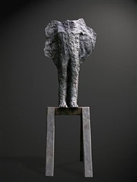 winged brother by magdalena abakanowicz