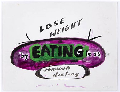 lose weight by eating less by william wegman