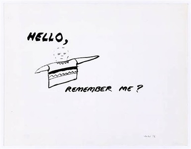 hello, remember me? by william wegman