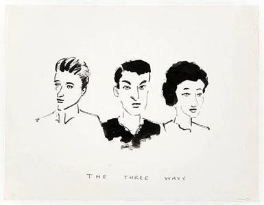 the three ways by william wegman