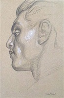 head c9 by paul cadmus