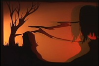 . . . the angry surface of some grey and threatening sea by kara walker