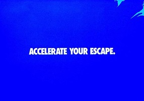 accelerate your escape by haim steinbach