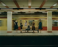 production still-women in the s-bahn by eve sussman