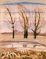 late autumn by charles ephraim burchfield