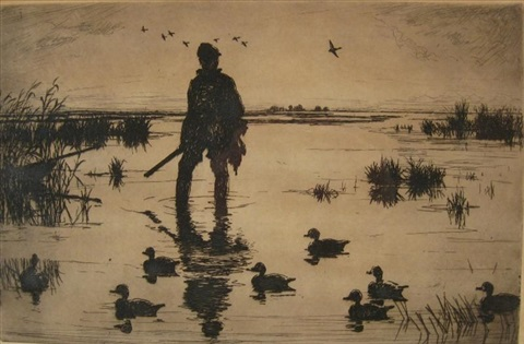 wildfowler by frank weston benson