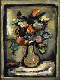 fleurs by georges rouault