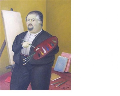 self portrait by fernando botero