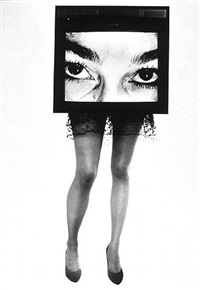 tv legs by lynn hershman leeson