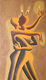light my fire by mark kostabi