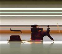taichi motion study #10 by jay mark johnson