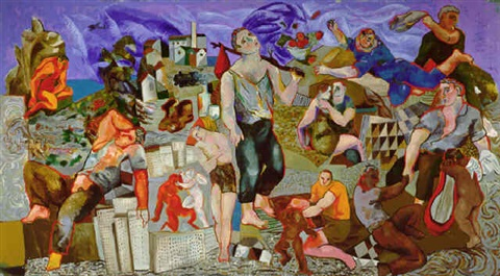 sandro chia, new paintings by sandro chia