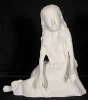 alice ii (feet uncrossed) by kiki smith