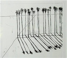 palms (sold) by wayne thiebaud