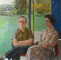 molly & walter bareiss by fairfield porter