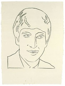 john lennon by andy warhol