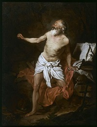 la vision de saint jérôme / the vision of saint jerome by pierre hubert subleyras