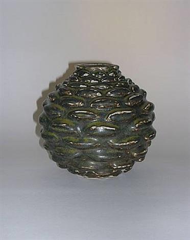 vase for royal copenhagen by axel johann salto