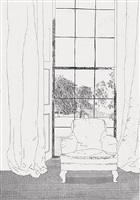 home (grimms fairy tales) by david hockney
