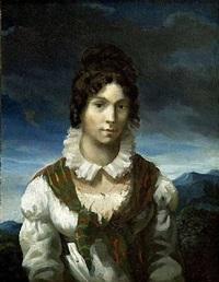 portrait présumé de madame elisabeth de dreux by théodore géricault
