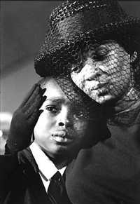 mrs. chaney and young ben, james cheney funeral, mississippi by bill eppridge
