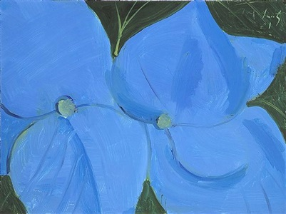 box flower #3 by alex katz