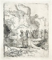 christ carried to the tomb by rembrandt van rijn