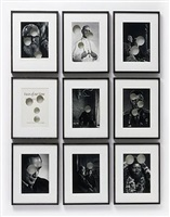 faces of our time penetrated, after yousuf karsh i by cerith wyn evans