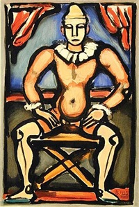 child of the circus by georges rouault
